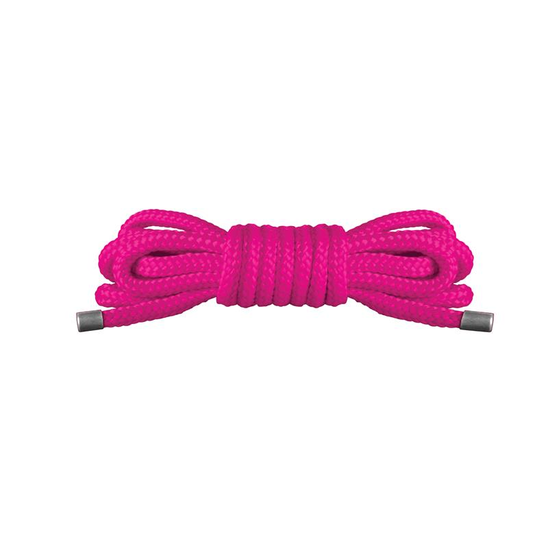 Shots Ouch! Japanese Mini Rope 1,5 m Pink